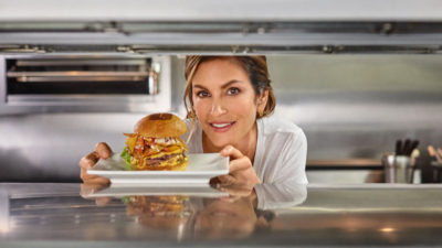 Cindy Crawford-Burger