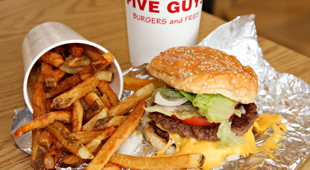 """Five Guys"" bald in Deutschland"