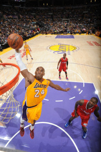 So kannte man ihn: Kobe Bryant in Action