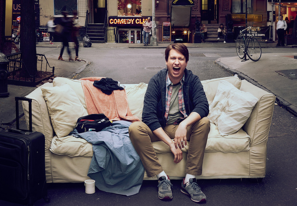 "Neue Serie ""Crashing"""