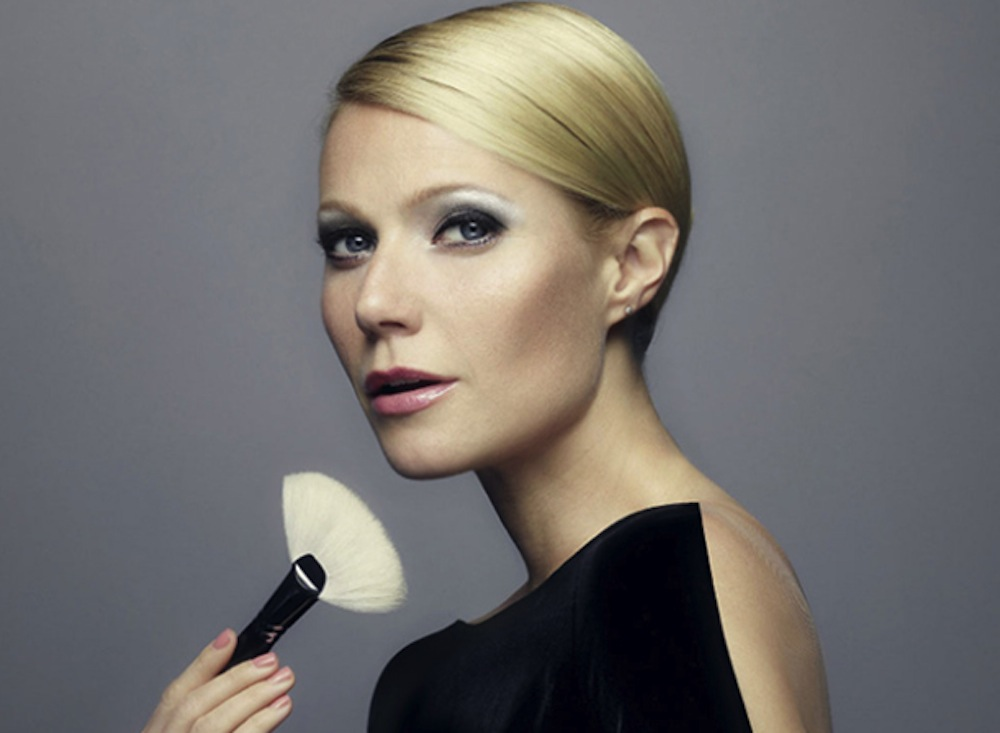 Gwyneth macht Make-up